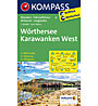 Kompass Carta N.61: Wörthersee, Karawanken West 1:50.000, 1:50.000