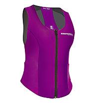 Komperdell Air Vest Women, Black/Fucsia