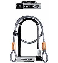 Kryptonite U-Lock KryptoLok Series 2 - lucchetto bici, Grey