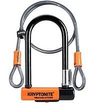Kryptonite U - Evolution Mini-7 with Flex - Lucchetto, Orange