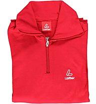 Löffler Transtex Shirt Kids, Red