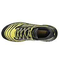 La Sportiva Akasha - scarpe trail running - uomo, Black/Sulphur