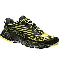 La Sportiva Akasha - Trail Running Schuhe, Black/Sulphur