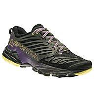 La Sportiva Akasha Damen - Mountain Running Schuhe, Black/Violet