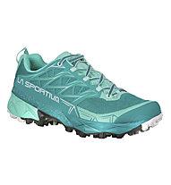 La Sportiva Akyra - scarpa trailrunning - donna, Green