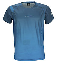 La Sportiva Apex T-Shirt trailrunning, Dark Sea Blue