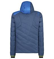 La Sportiva Arctic Down - giacca in piuma - uomo, Blue/Light Blue/Green