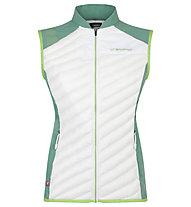 La Sportiva Aria - Weste Trailrunning - Damen, White/Green