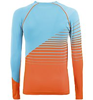 La Sportiva Artic - Funktionsshirt Langarm - Herren, Light Blue/Orange