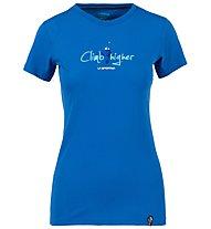 La Sportiva Asteroid - T-shirt arrampicata - donna, Blue