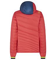 La Sportiva Azaira Down - giacca in piuma - donna, Red/Blue