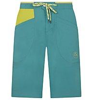 La Sportiva Belay - pantaloni corti arrampicata - uomo, Green