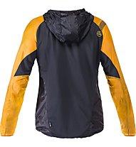 La Sportiva Blizzard Windbreaker - giacca trail running - uomo, Black/Yellow
