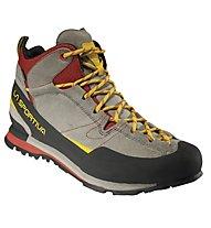 La Sportiva Boulder X Mid GORE-TEX - scarpe da avvicinamento - uomo, Grey/Red
