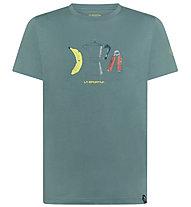La Sportiva Breakfast - T-Shirt Klettern - Herren, Green