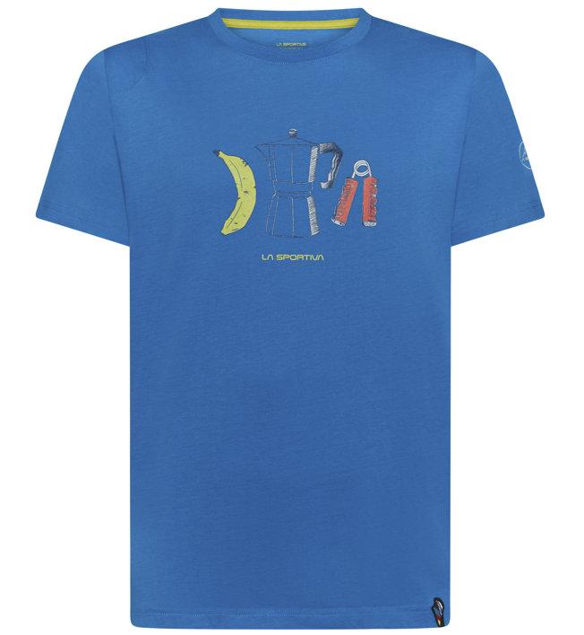 La Sportiva Breakfast - T-shirt - uomo, Blue