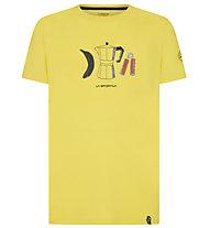 La Sportiva Breakfast - T-Shirt Klettern - Herren, Yellow