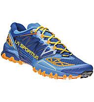 La Sportiva Bushido Scarpa Trail Running, Blue/Papaya