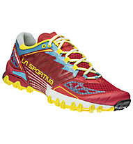 La Sportiva Bushido - scarpe trail running - donna, Red