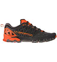 La Sportiva Bushido II - Trailrunningschuh - Herren, Black/Orange
