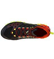 La Sportiva Bushido II - Trailrunningschuh - Herren, Black/Red