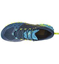 La Sportiva Bushido II - Trailrunningschuh - Herren, Blue/Green