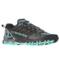 La Sportiva Bushido II W - Trailrunningschuh - Damen, Grey/Light Blue