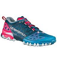 La Sportiva Bushido II - Trailrunningschuh - Damen, Blue/Red