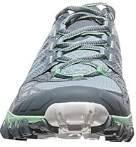 La Sportiva Bushido - scarpe trail running - donna, Grey/Green
