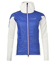 La Sportiva Cambrenas Vapovent J - giacca da alpinismo - donna, Blue/White