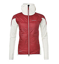 La Sportiva Cambrenas Vapovent J - Damen-Bergsteigerjacke, Red/White