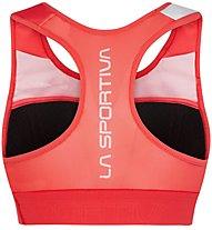 La Sportiva Captive Top - Sport BH - Damen, Red