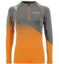 La Sportiva Castor - Funktionsshirt Skitouren - Herren, Grey/Orange