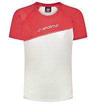 La Sportiva Catch - Trailrunning T-Shirt - Damen, White/Red