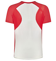 La Sportiva Catch - maglia trail running - donna, White/Red