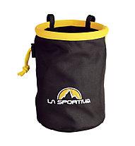 La Sportiva Chalk Bag - porta magnesite, Black/Yellow