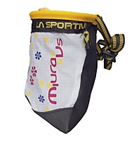 La Sportiva Chalk Bag Miura VS Woman, Black/White/Pink