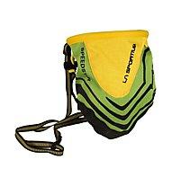 La Sportiva Chalk Bag Speedster - Portamagnesite, Green/Yellow