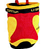 La Sportiva Chalk Bag Testarossa - Portamagnesite, Red/Yellow