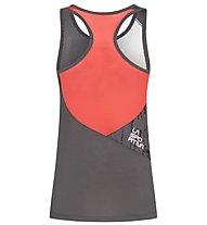La Sportiva Chemistry - top arrampicata - donna, Grey