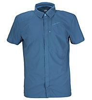 La Sportiva Chrono Shirt Camicia a maniche corte trekking, Dark Sea Blue