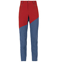 La Sportiva Cliff - pantalone arrampicata - uomo, Blue/Red