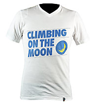 La Sportiva Climbing On The Moon Klettershirt, White