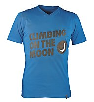 La Sportiva Climbing On The Moon - T-shirt arrampicata - uomo, Blue