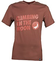 La Sportiva Climbing On The Moon - T-shirt arrampicata - uomo, Red