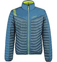 La Sportiva Combin Down - giacca in piuma sci alpinismo - uomo, Blue