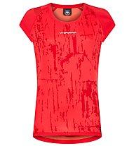 La Sportiva Core - T-Shirt Klettern - Damen, Red