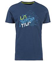 La Sportiva Cubic - T-Shirt Klettern - Herren, Blue