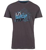La Sportiva Cubic - T-Shirt Klettern - Herren, Grey