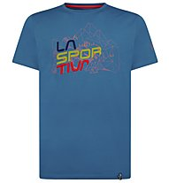 La Sportiva Cubic - T-Shirt Klettern - Herren, Light Blue